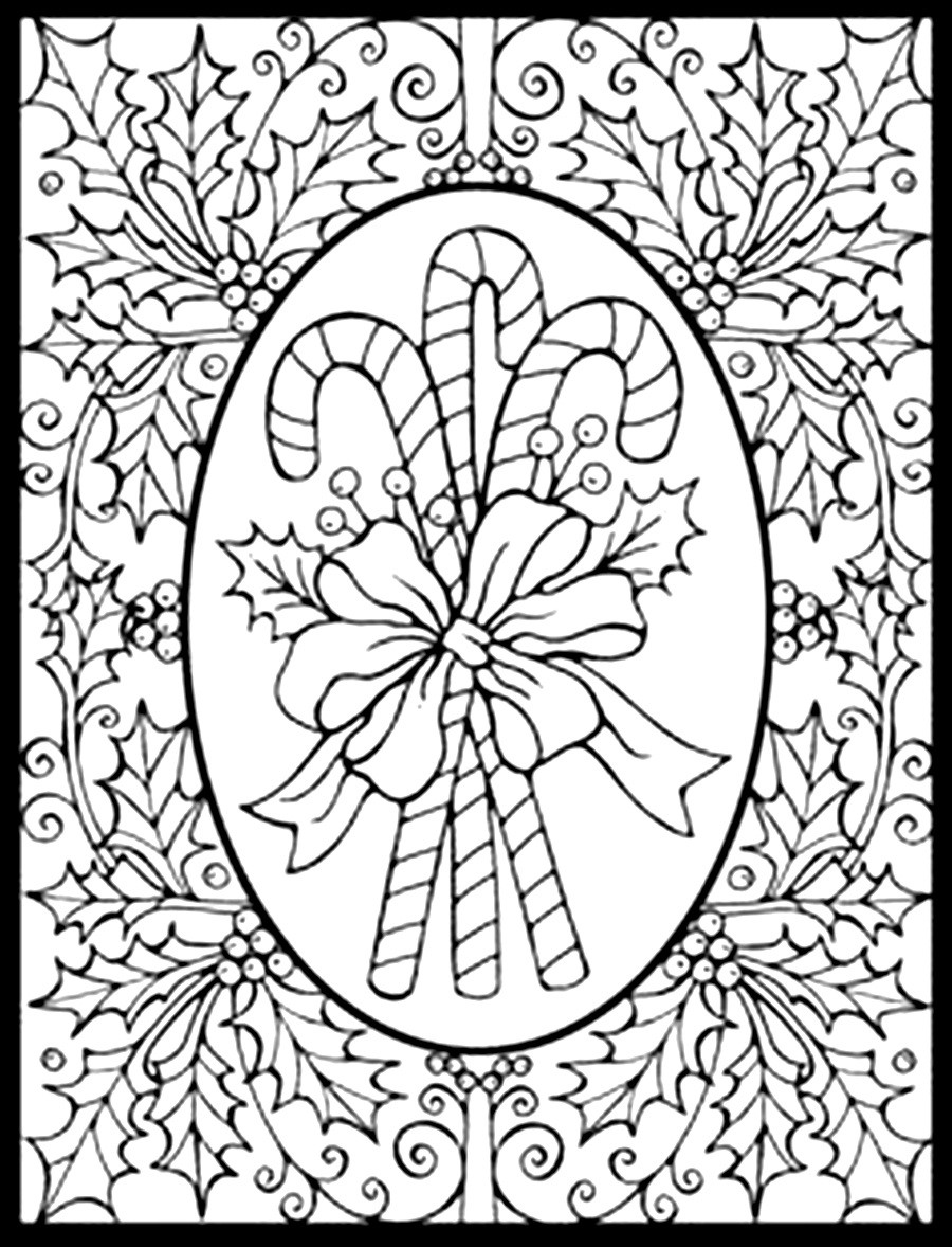 christmas coloring sheets to print