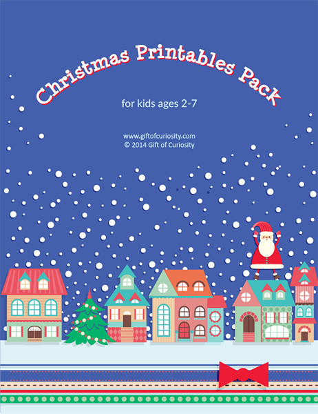 christmas packets printable