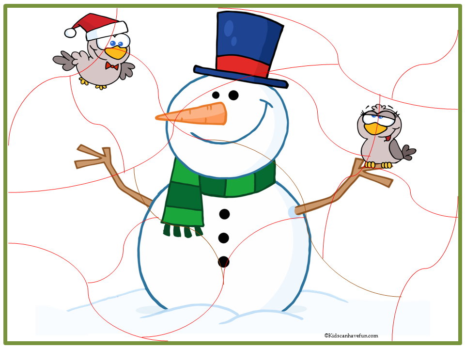 christmas picture puzzles printable