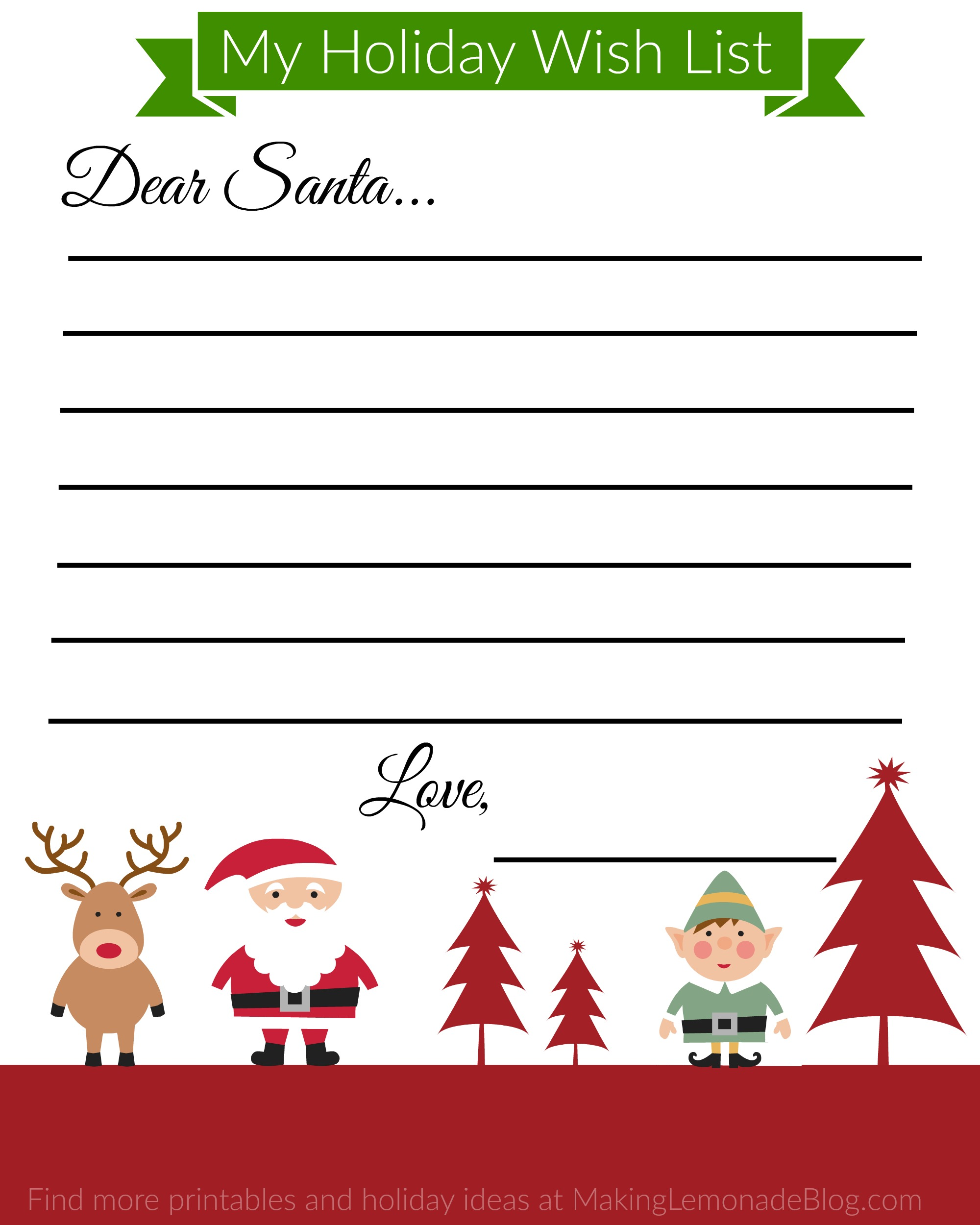 christmas printable kids