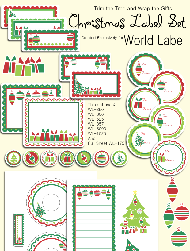 Christmas Printable Labels Free Christmas Printables