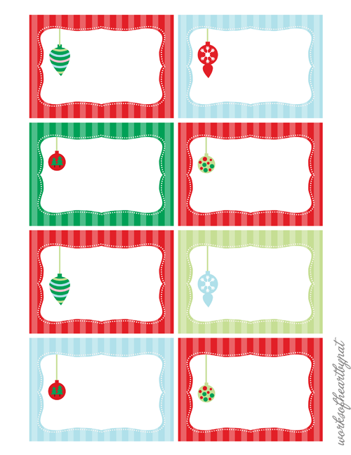 christmas tags to print christmas printables