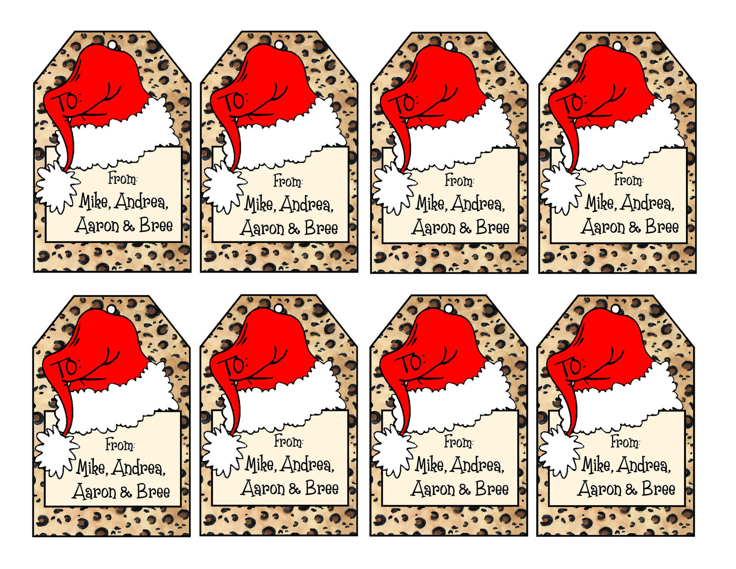 graphic about Santa Labels Printable identified as versus santa tags -