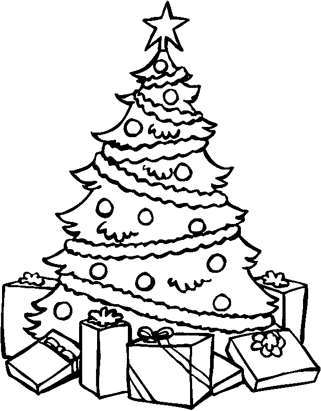 christmas tree printable
