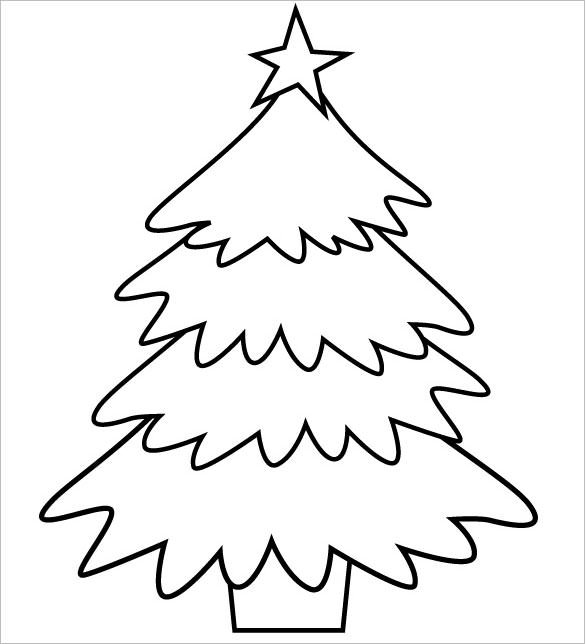 christmas tree printable decorations