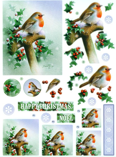 decoupage printables for christmas