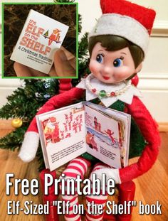 elf on the shelf printable book
