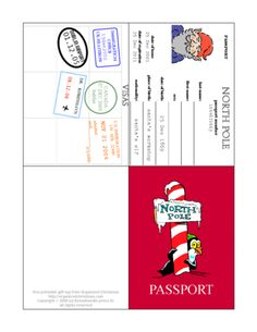 elf passport printable