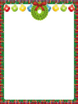 photograph about Free Printable Christmas Borders known as Body Printables For Xmas - Xmas Printables