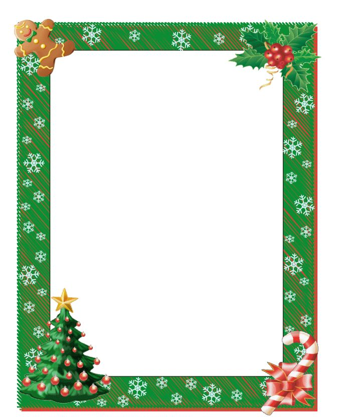frame printables for christmas