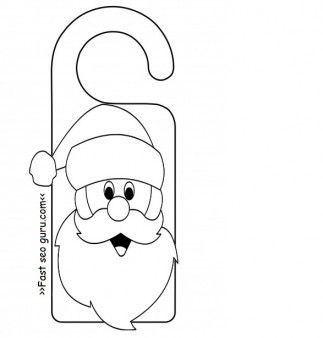 photograph regarding Printable Christmas Crafts named xmas craft templates no cost -