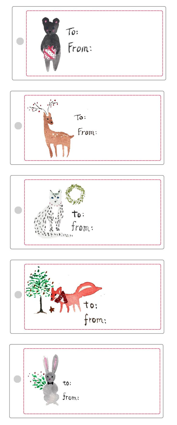 picture regarding Free Printable Gift Tags Template called Absolutely free Printable Xmas Reward Labels And Reward Tags Towards Print