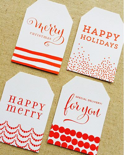 free printable merry christmas tags