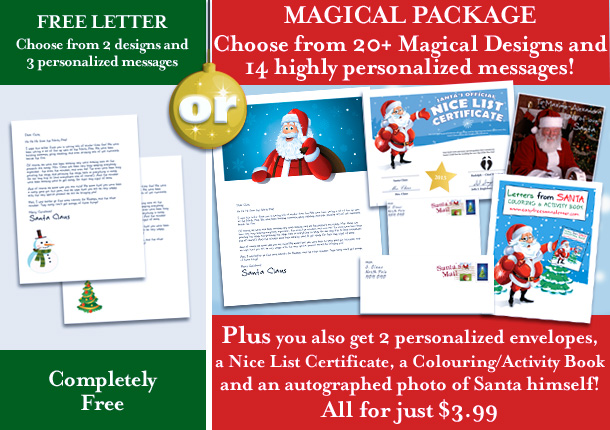 free printable personalized letters from santa