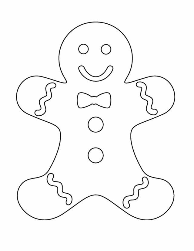 image about Gingerbread Man Patterns Printable titled Gingerbread Person Printables For Xmas - Xmas Printables