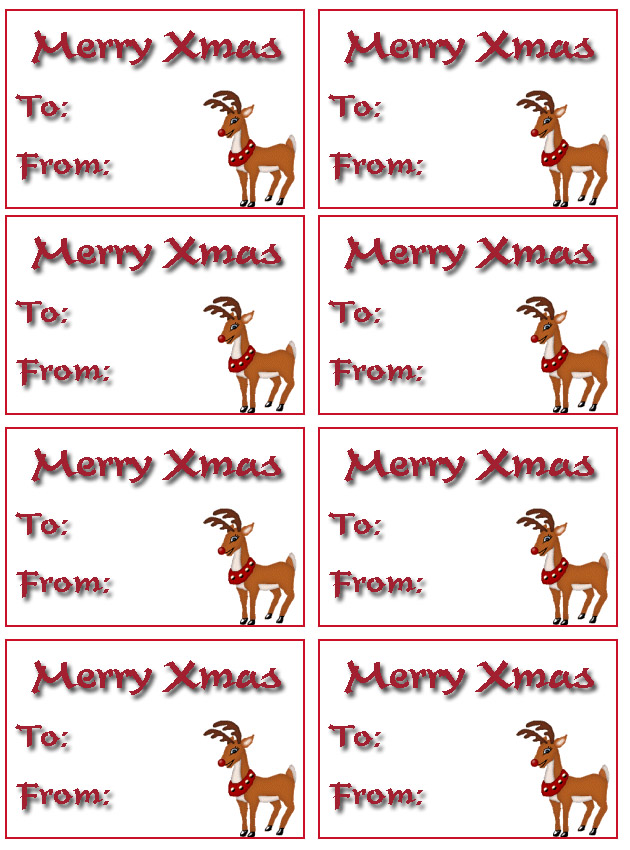 large printable gift tags free christmas christmas printables