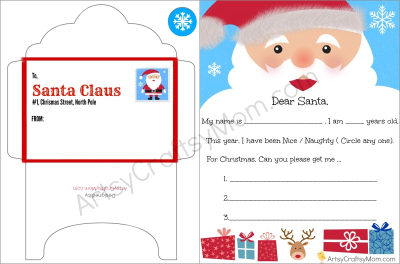 letter to santa print out