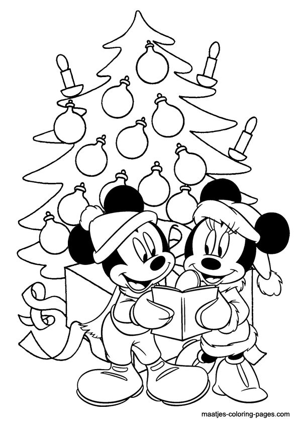 minnie mouse printables for christmas