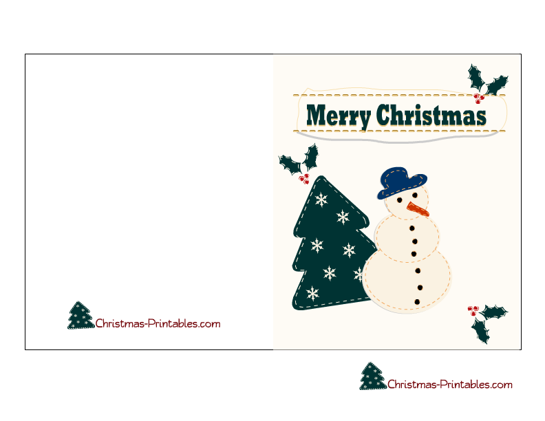print off christmas cards