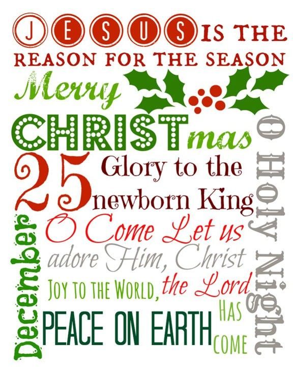 printable christmas art