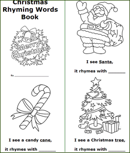 image about Free Printable Mini Book Template known as Printable Xmas Textbooks - Xmas Printables