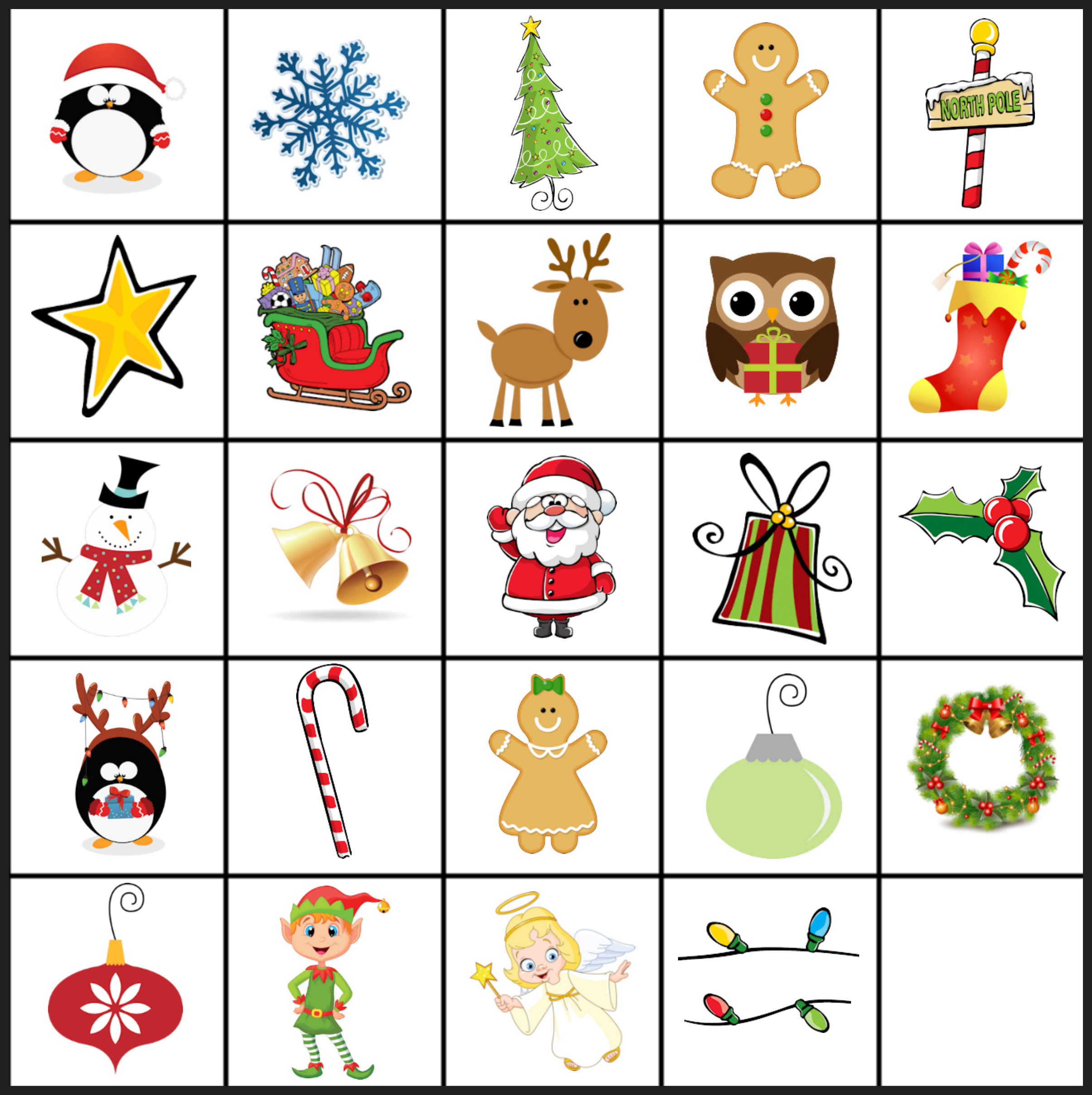 printable christmas cards for students