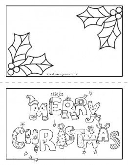 printable christmas cards from kids