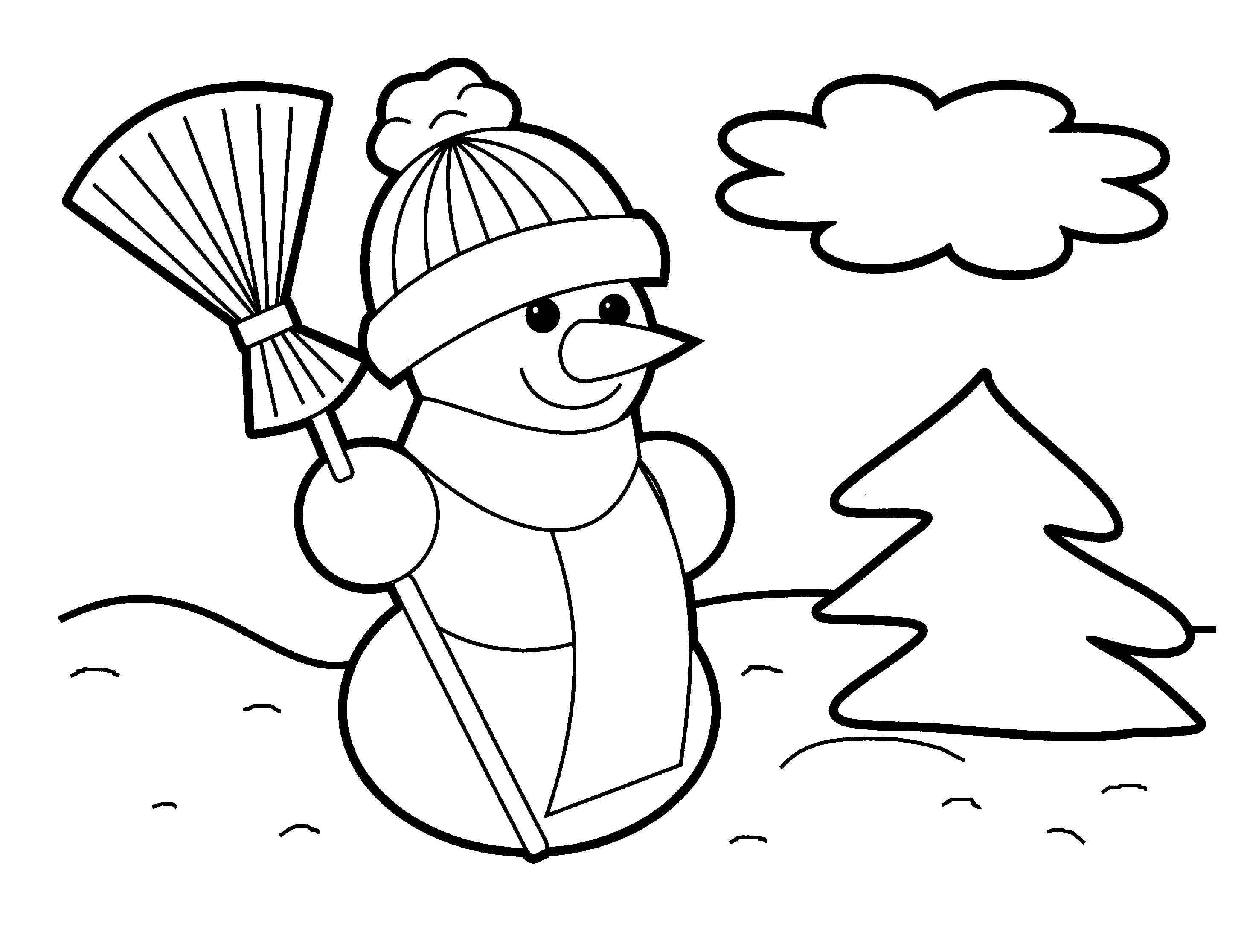 printable christmas coloring sheets for kids