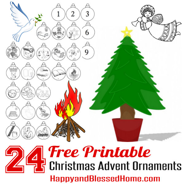 printable christmas decorations for children