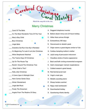 graphic relating to Christmas Song Games Printable Free identify Printable Xmas Game titles For Grownups - Xmas Printables