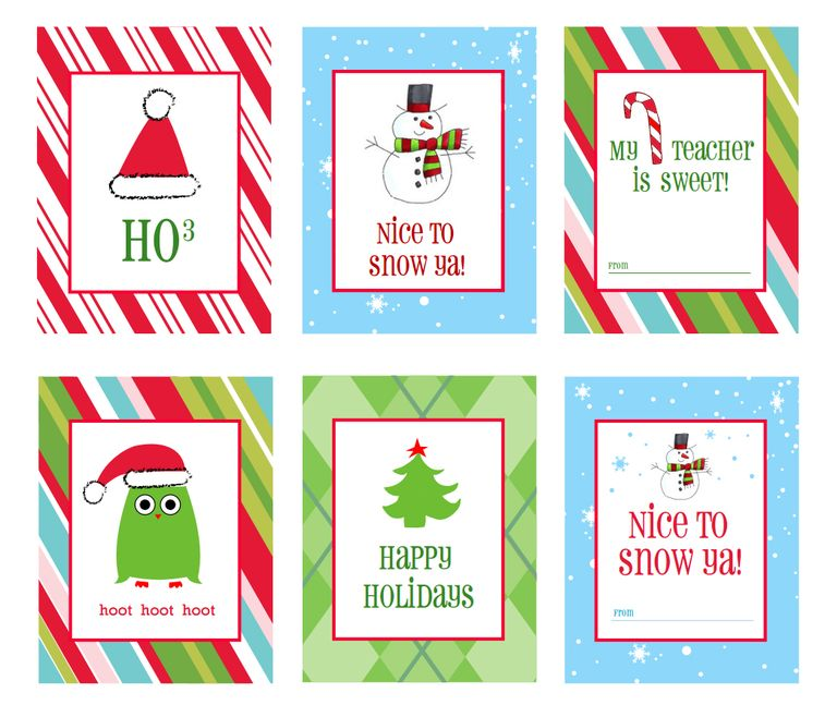 printable christmas labels