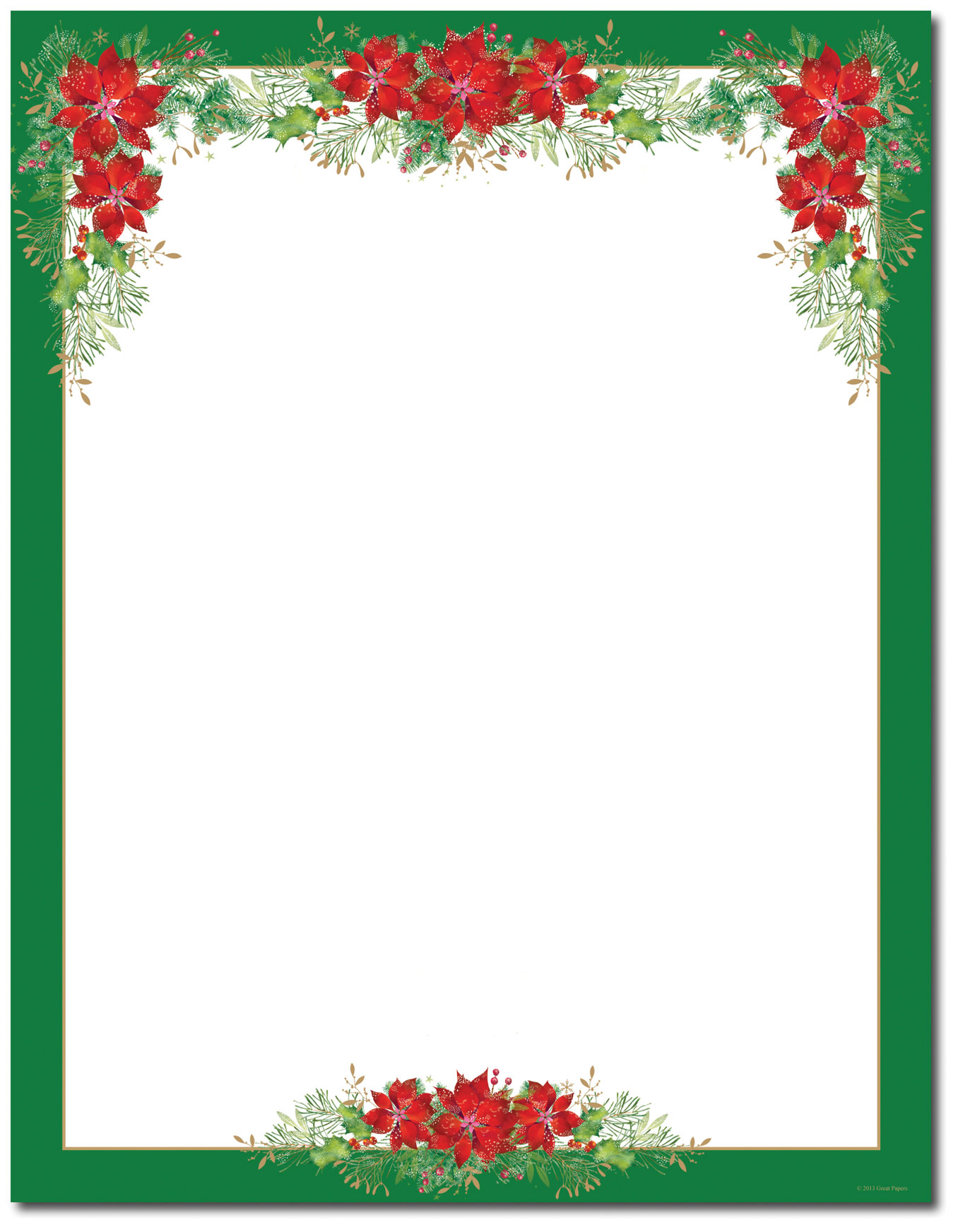 picture about Printable Letter Papers called Printable Xmas Letter Paper - Xmas Printables