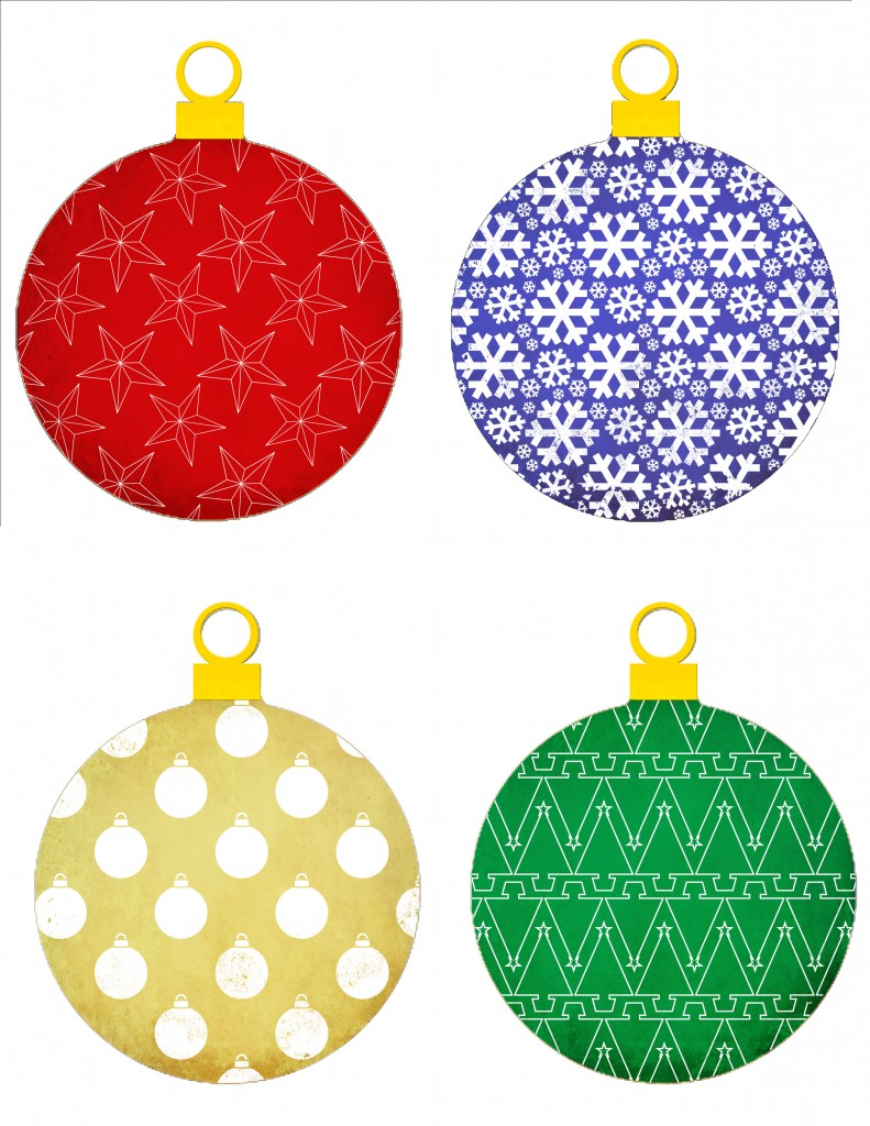 printable christmas ornament templates