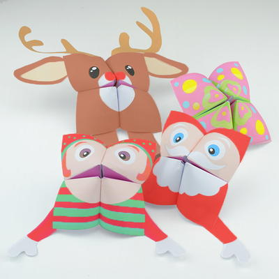 printable christmas paper crafts