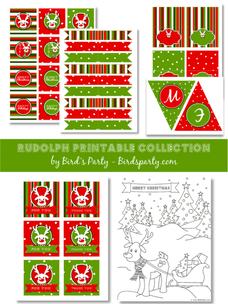 printable christmas party decorations