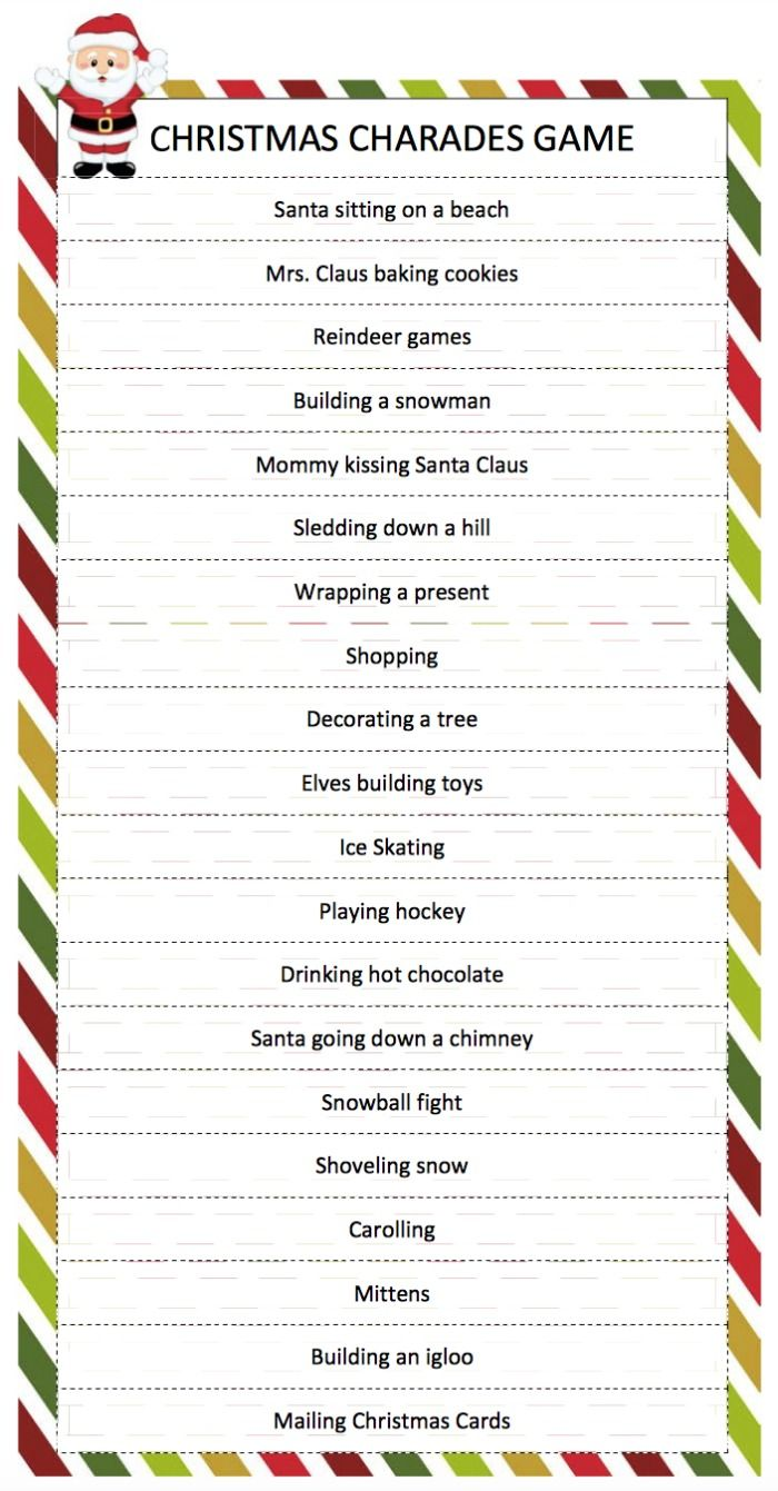 picture regarding Printable Family Games identify Printable Xmas Celebration Game titles - Xmas Printables