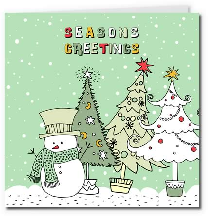 printable christmas postcards