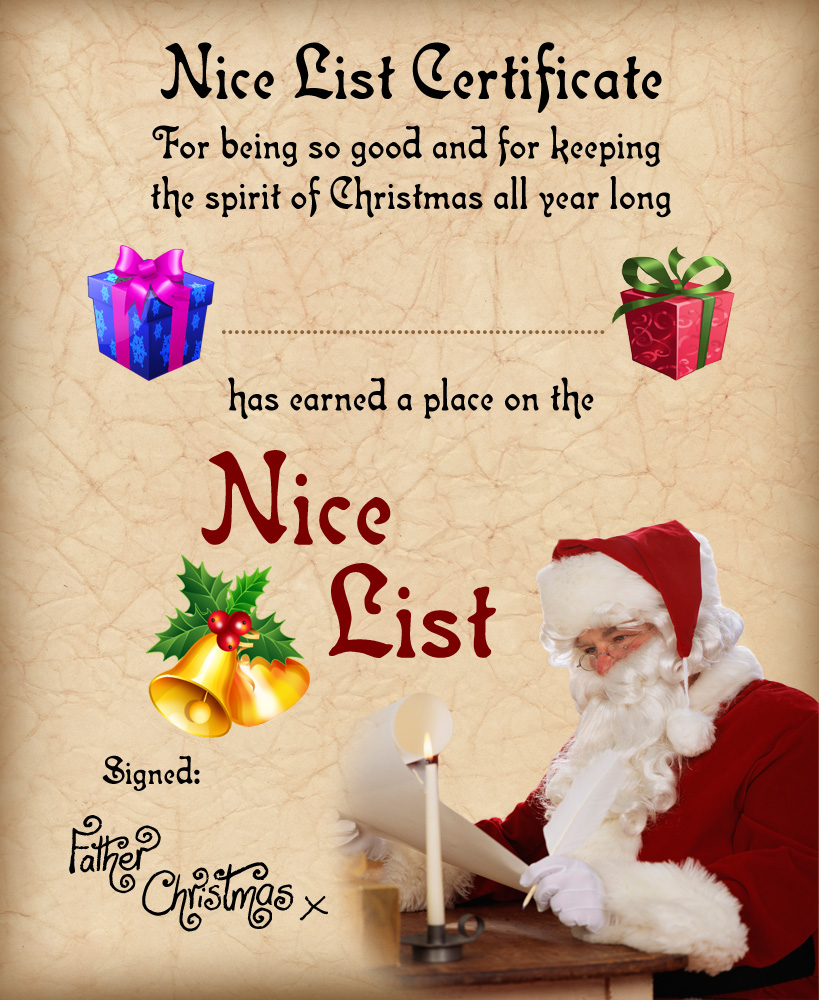 printable father christmas