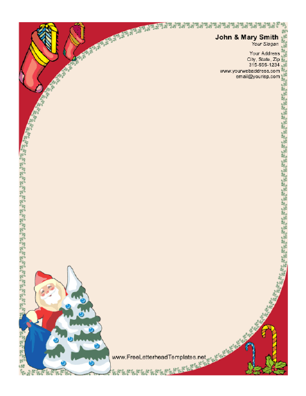 Monster image with regard to printable letterhead from santa
