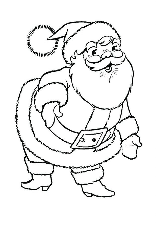 santa claus patterns printable