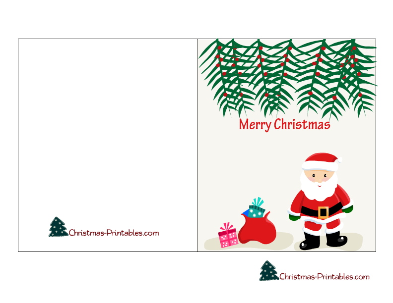 to and from christmas cards printable