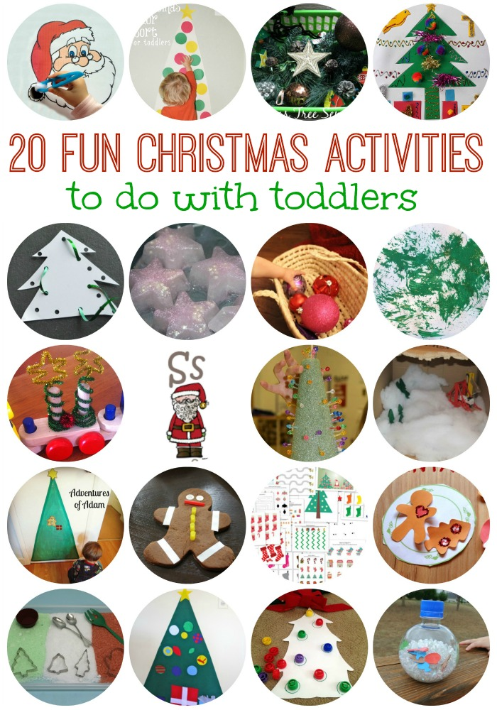 toddler christmas printable activities
