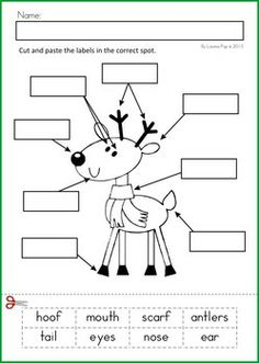 worksheet preschooler printables for christmas