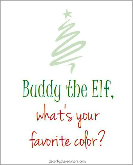 buddy the elf printable