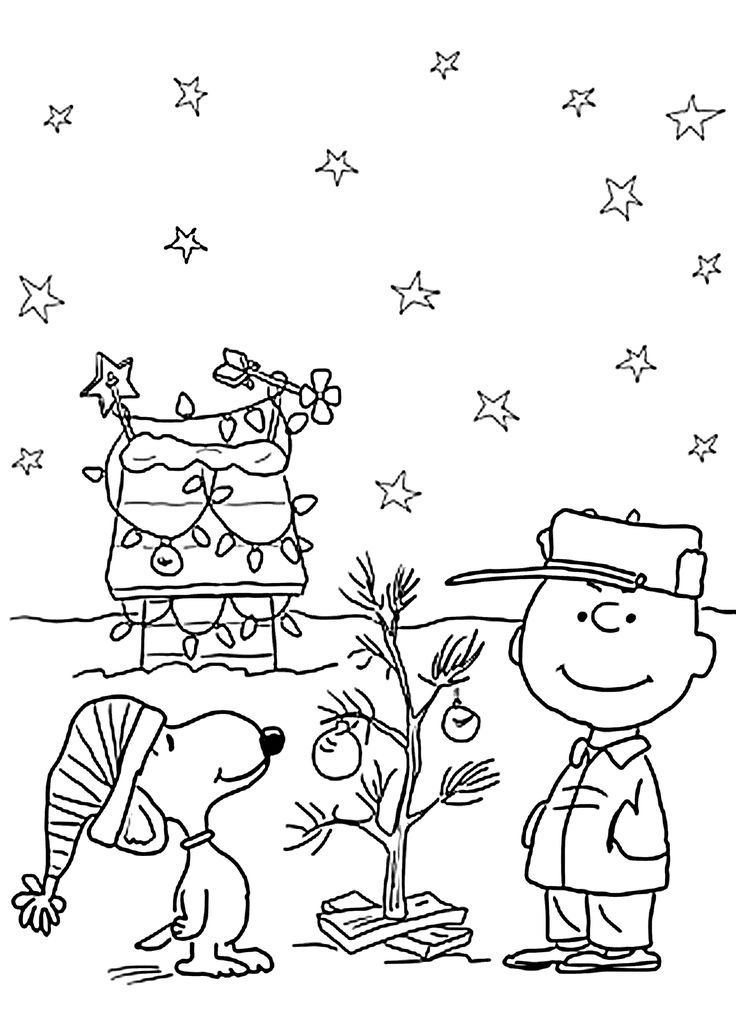 childrens christmas printable coloring pages