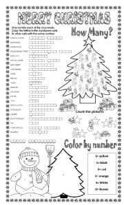 christmas activities for adults printable