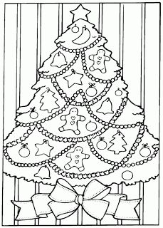 christmas colouring to print