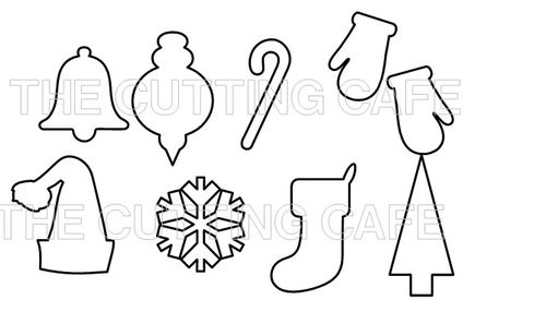 christmas cutouts printable