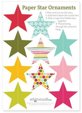 christmas decorations to print
