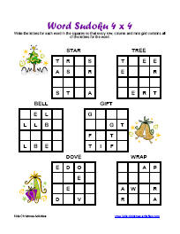 christmas games puzzles printable